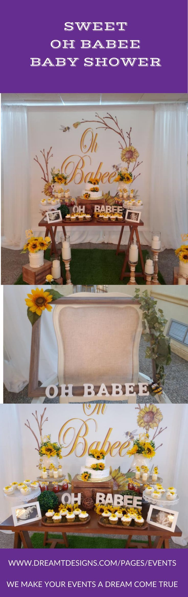 How To Make A Photo Frame Prop For Baby Shower : photo, frame, shower, Creative, Shower, Theme, Backdrop, Table, Photo, Frame, Board., And…, Themes,, Shower,