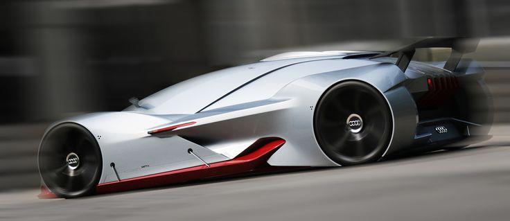 Audi Deep-GT 2035 Concept by Xiaokai Ma
