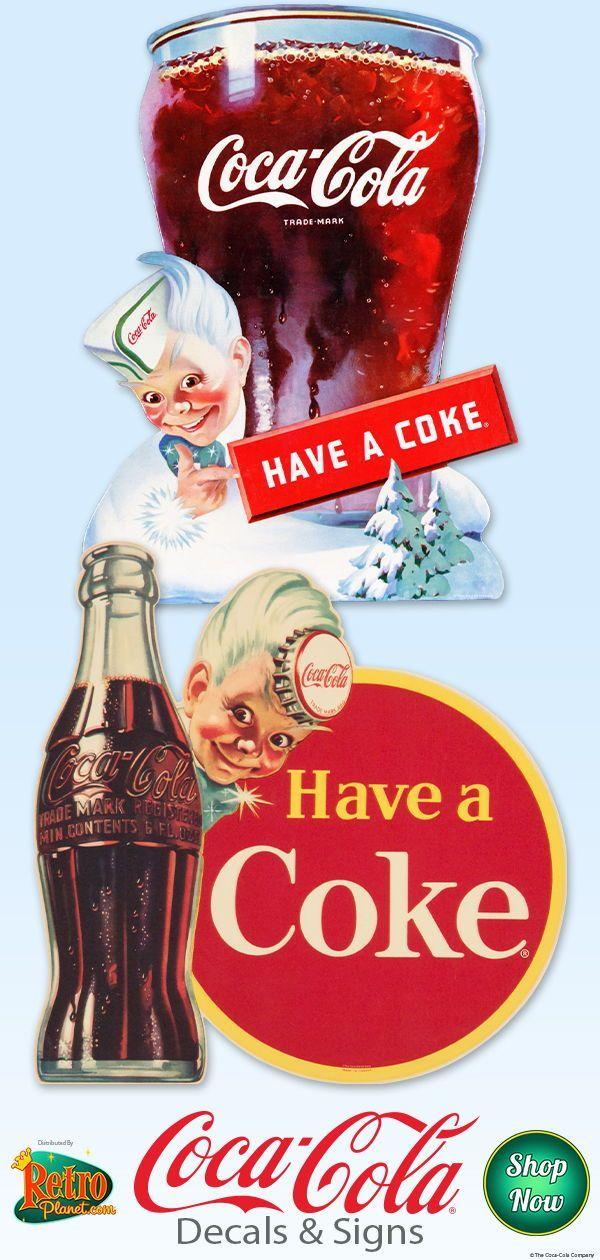 Coca-Cola Have a Coke Now Vinyl Sticker Vintage Style Decal