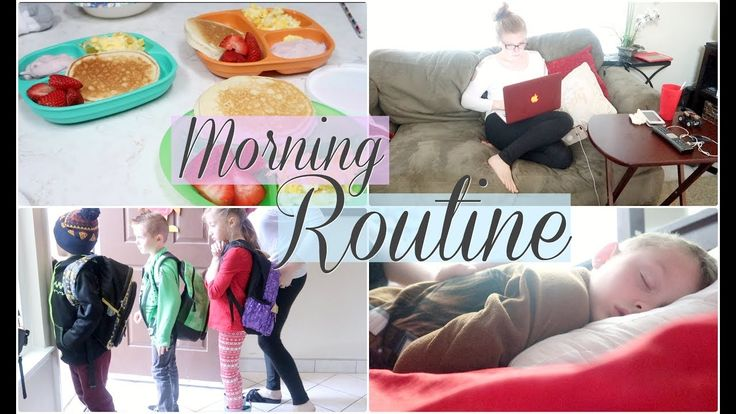 MORNING ROUTINE w/ 5 KIDS on a SCHOOL DAY
