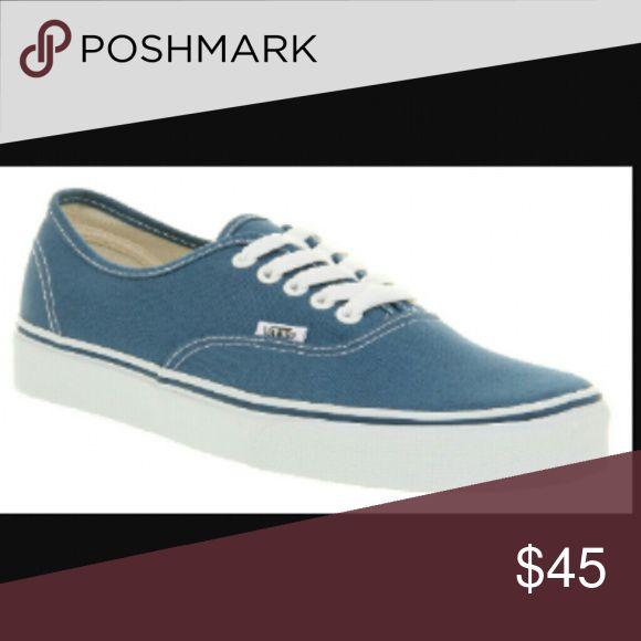 Womens Vans sneakers This listing is for vans sneakers for women blue in color Vans Shoes Sneakers