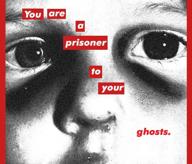 media art @ the heart: Barbara Kruger Inspired Photography