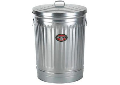 traditional kitchen trash cans by Mills Fleet Farm