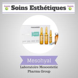 La marque Mesohyal est actuellement la gamme de dispositifs médicaux d'administration intradermique avec le marquage CE le plus large du mar...http://zestetik.fr/magazine/mesohyal-de-mesoestetic-pharma-group/