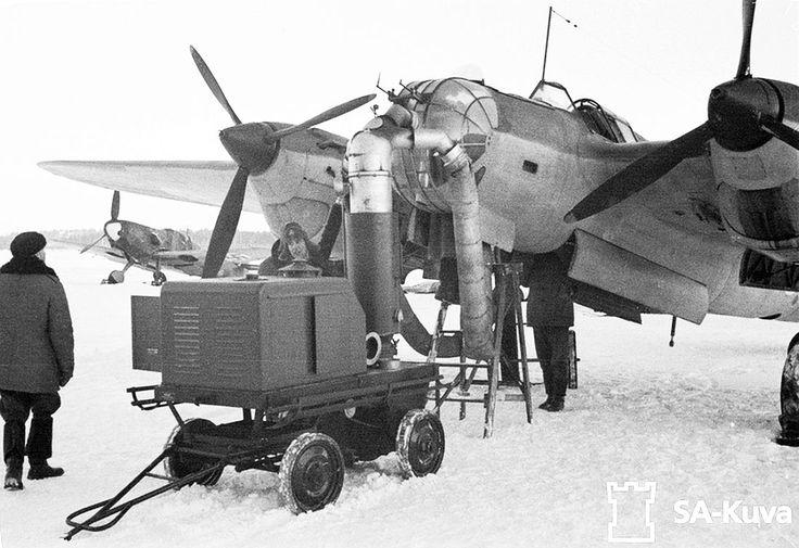 Finnish Tupolev SB-2, 1944.