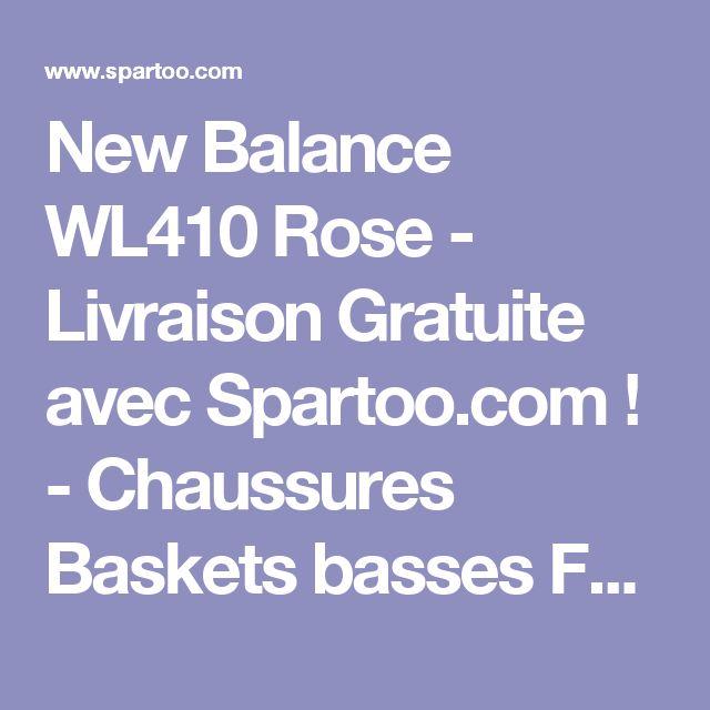 New Balance WL410 Rose - Livraison Gratuite avec Spartoo.com ! - Chaussures Baskets basses Femme 84,99 €