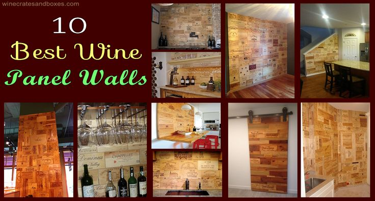 The 10 Best Wine Crate Panel Walls Www