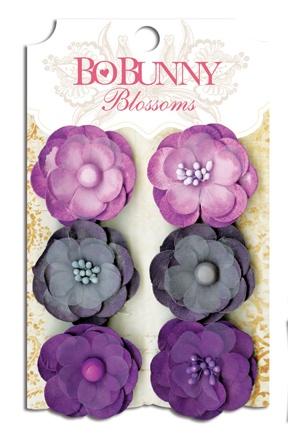 New Pansy Blossoms! See all 8 colors! #bobunny: Bottlecap, Pansies Bo, Plum Purple, Lace, Pansies Blossoms, Bobunni Produkt, Color, Bo Bunnies, Purple Pansies