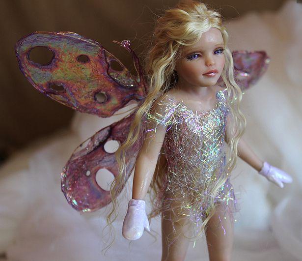 My Sugar Plum Fairy tutorial! Learn how to make her at www.MakingFairies.com