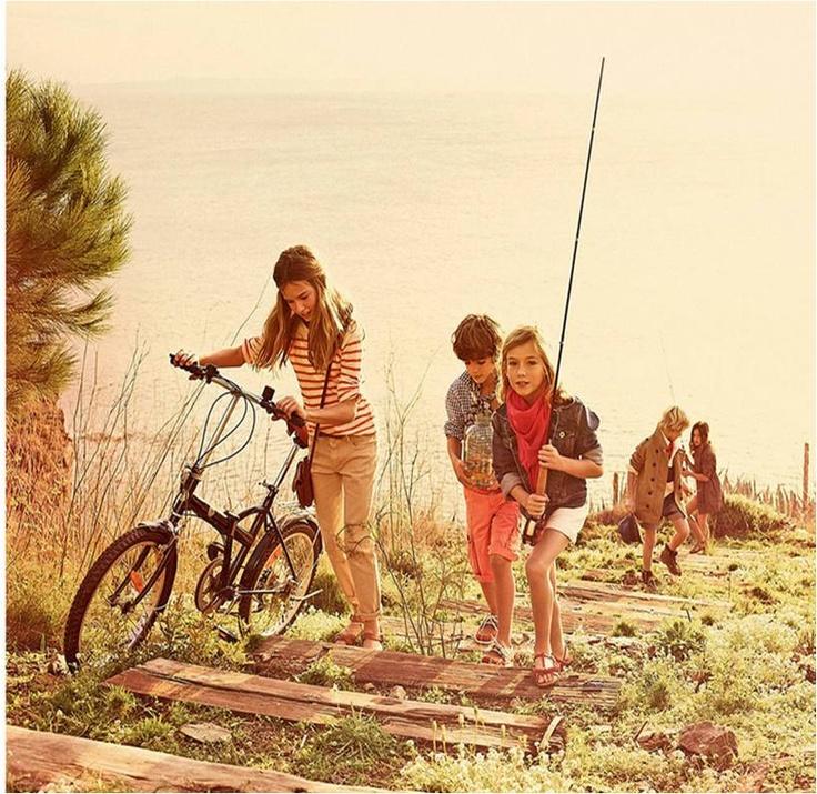 T de teenagers: Vamos a la playa o a pescar?