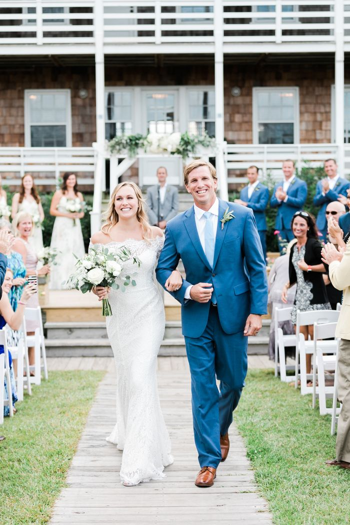 Relaxed Nags Head, NC Wedding With Rustic Details