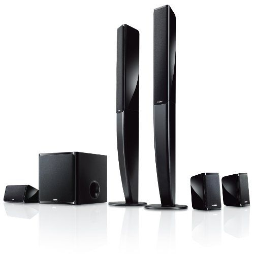 Introducing Yamaha speaker package 51ch Tall Boy Style Black NSPA40B. Great product and follow us for more updates!