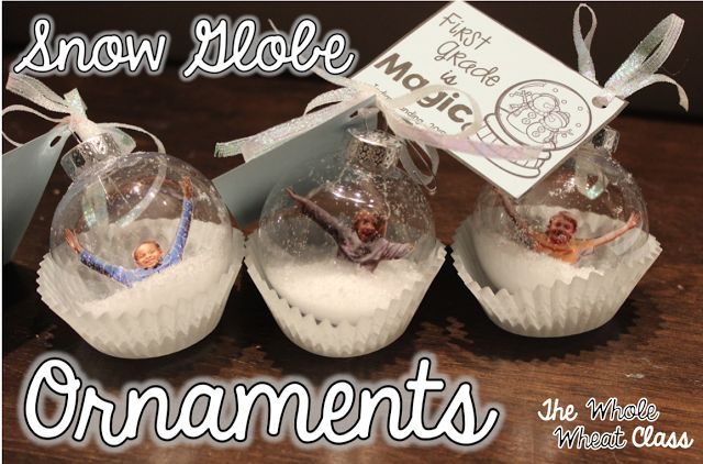 Keepsake classroom ornaments families and students will love. Tips and instructions. The Whole Wheat Class
