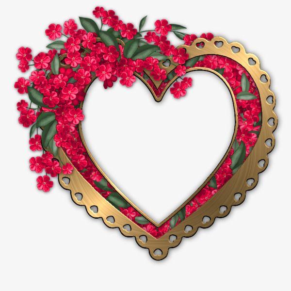 metal,flowers,heart-shaped,effect,frame,heart-shaped clipart,flowers ...