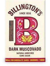 BILLINGTON'S cukier trzcinowy ciemny MUSCOVADO 500g ekosklepkrainazdrowia.pl