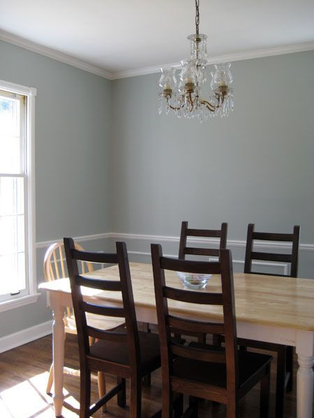 Benjamin Moore Silver Marlin Dining Room Paint Colors