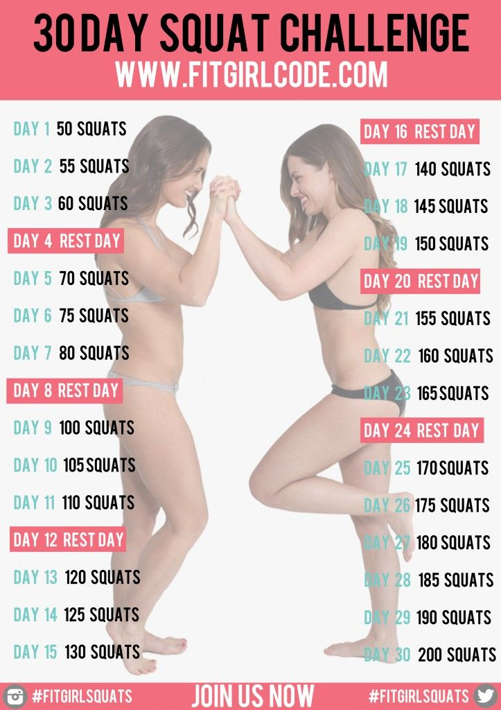 Want the Beyonce booty? Work for it! Do our 30 day squat challenge and if it's too boring for you, add some weights. We'd love to see how you are doing, so do share your progress using the hashtag #Fitgirlcode!