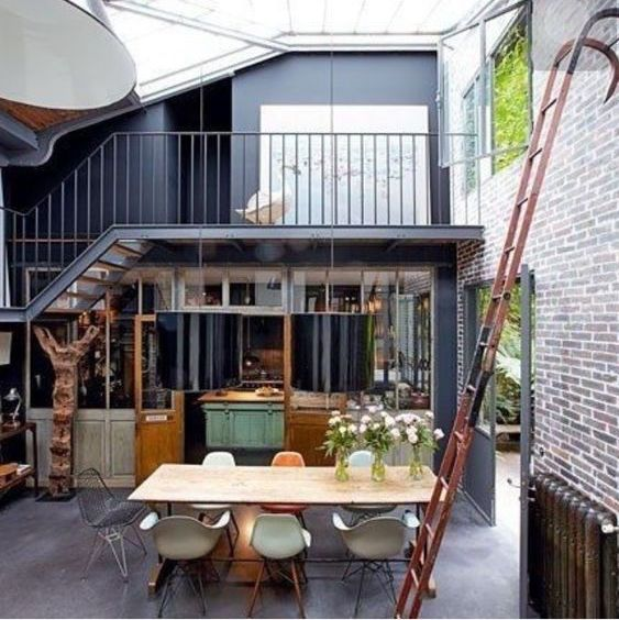 Elegant It Is Hard To Believe This Place Use To Be An Old Workshop Used For  Repairing Horse Carousels! Isabelle Puech Et Benoît Jamin Transformed The  Space Into A ...