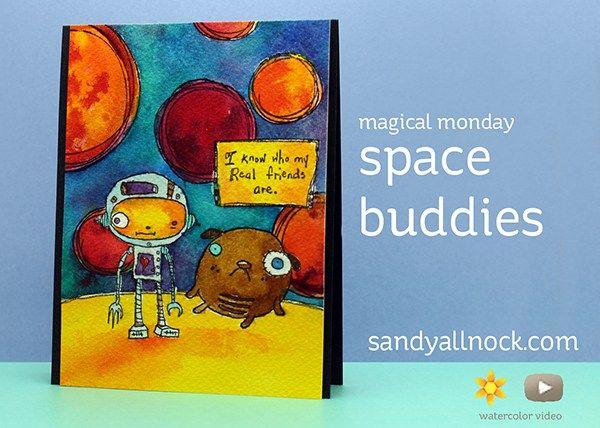 Sandy ALlnock Space Buddies