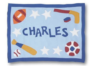 81 best sports themed baby gifts images on pinterest baby boys what dad would not love this baby blanket negle Images