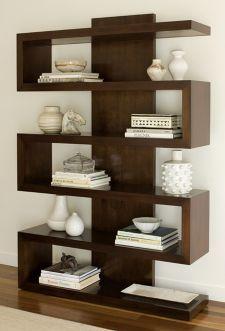 Ralston Chestnut Brown Finish Bookcase | LampsPlus.com