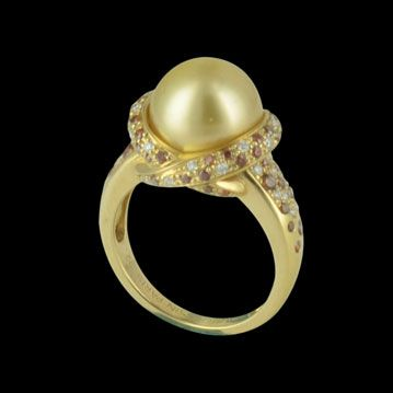 MAUBOUSSIN - Perle d'or, mon Amour, cresus bijoux de luxe d'occasion, http://www.cresus.fr/bijoux/bijou-occasion-mauboussin-perle_d