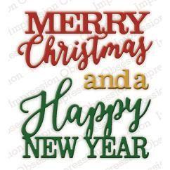 Merry Christmas - DIE330-R: