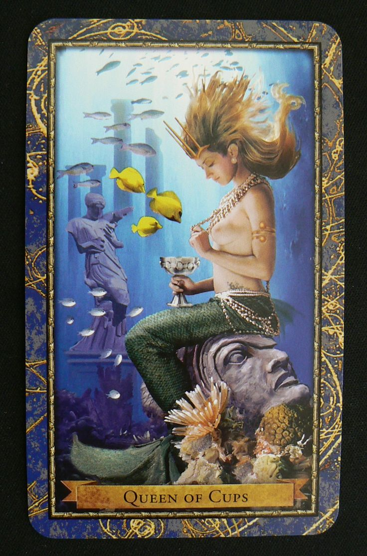Dating the local queen of cups