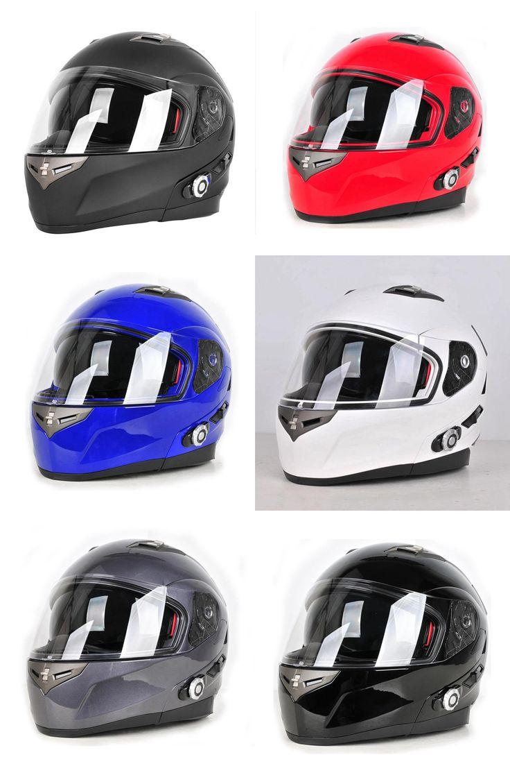 [Visit to Buy] Built-in Bluetooth Helmets Motorcycle Full Face Helmet BT Intercom Capacete Casco Casque Freedconn YH953 #Advertisement
