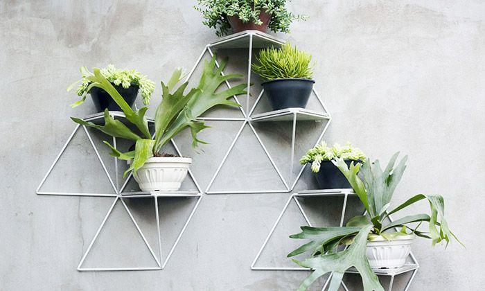 Garden Module je stylový držák na pokojové květiny