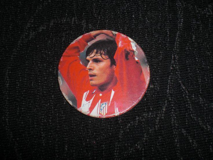 TAZO caps PANINI LIGA 95-96 N56 LFP 56 Atlético de Madrid ATLETI 1995 1996 TAZOS
