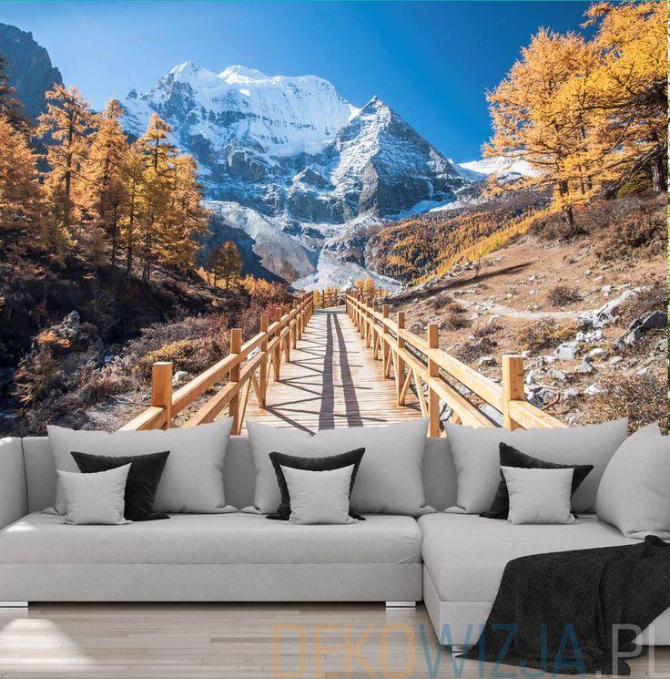 Fototapeta z Piękną jesienią w górach
