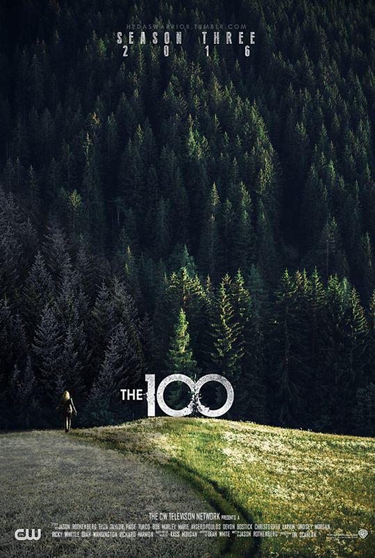 100 Season 3 fan promo poster