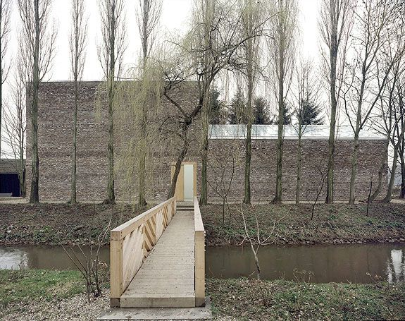 Erwin Heerich - Hohe Galerie (1984) at Insel Hombroich: Architecture 01, Favorite Places, Nice Places, Architecture, Galerie 1984