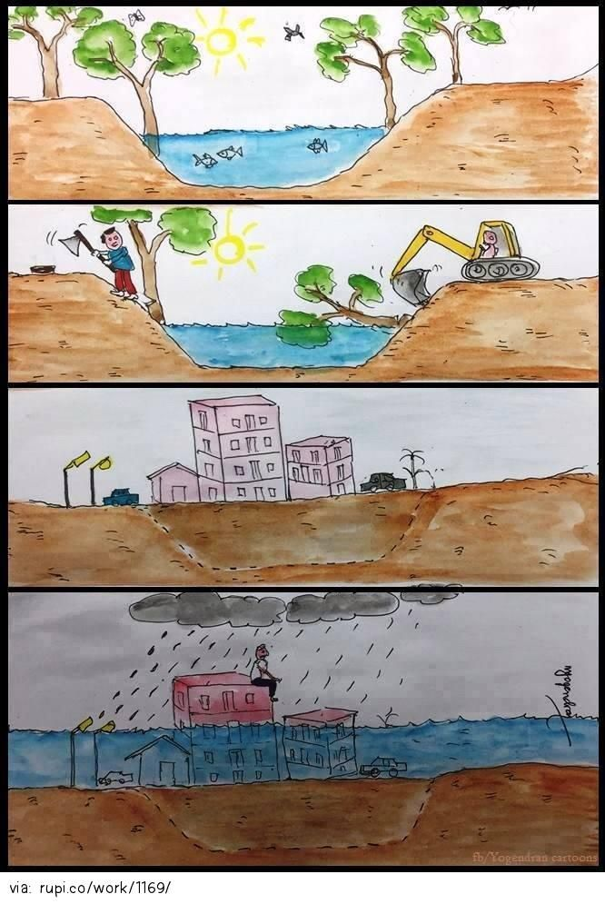 How to Destroy Your World - Rupi - Social Comic Strip @rupidotco