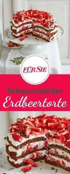 Schwarzwälder Erdbeer-Torte