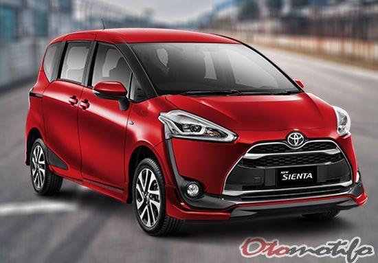 Spesifikasi dan Harga Toyota Sienta