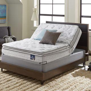 Sleep Zone Supreme 10 Inch Latex And Memory Foam Split King Size Adjule Mattress Set By