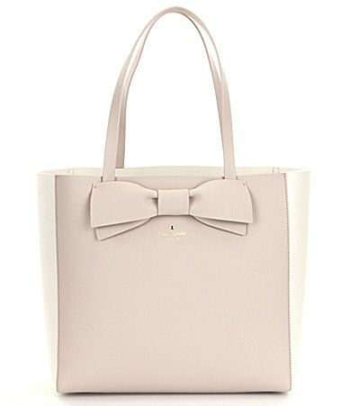 kate spade new york Clement Street Blair Color Blocked Bow Tote #Dillards