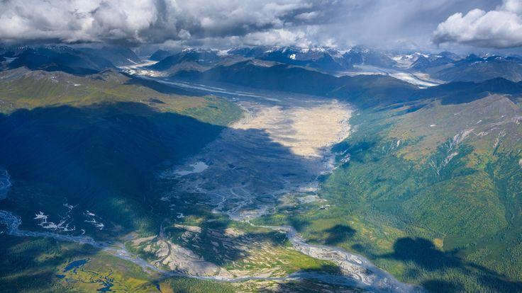 Tokositna Glacier by Tom Stoncel on 500px