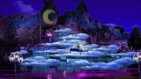 Fantasmic!, the nighttime spectacular, will return to Disneyland this summer with new scenes and new Disney characters making an appearance!  #Disney #Disneyland #California #DisneyVacationPlanner #summer #vacation #family