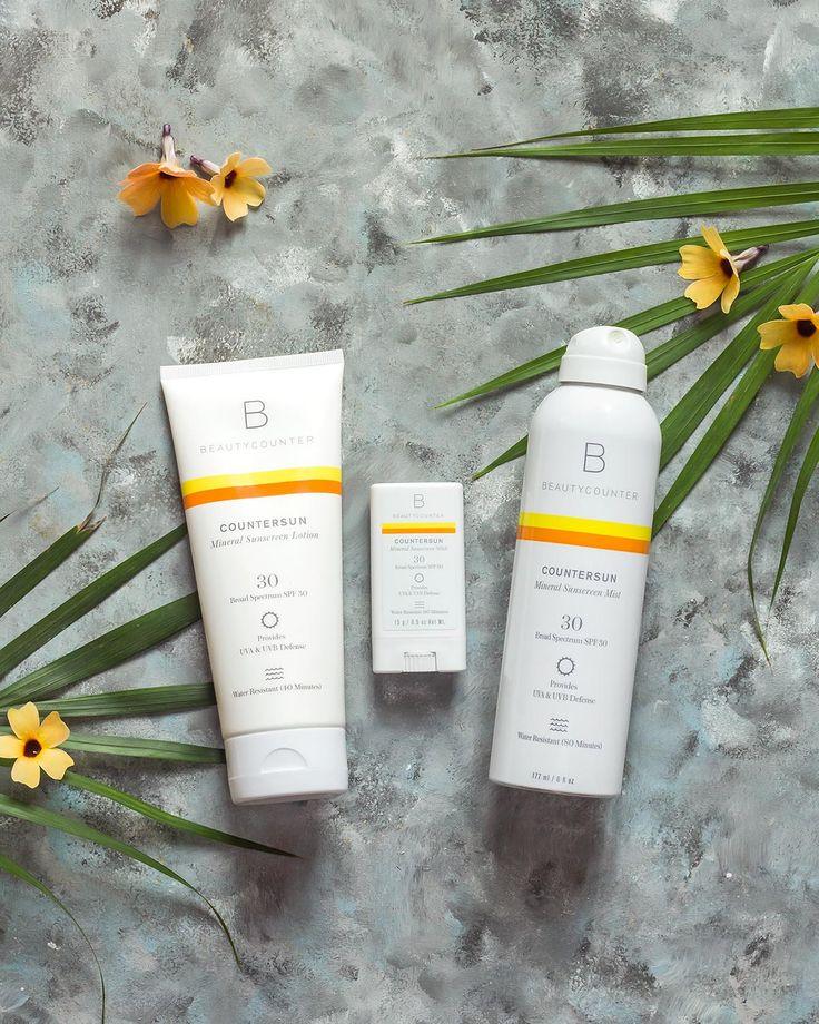 Best Mineral Sunscreen? Beautycounter Sunscreen Review
