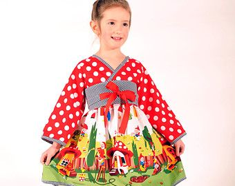 Princess Dress for Girls and Toddlers by HarmonyGirlsClothing