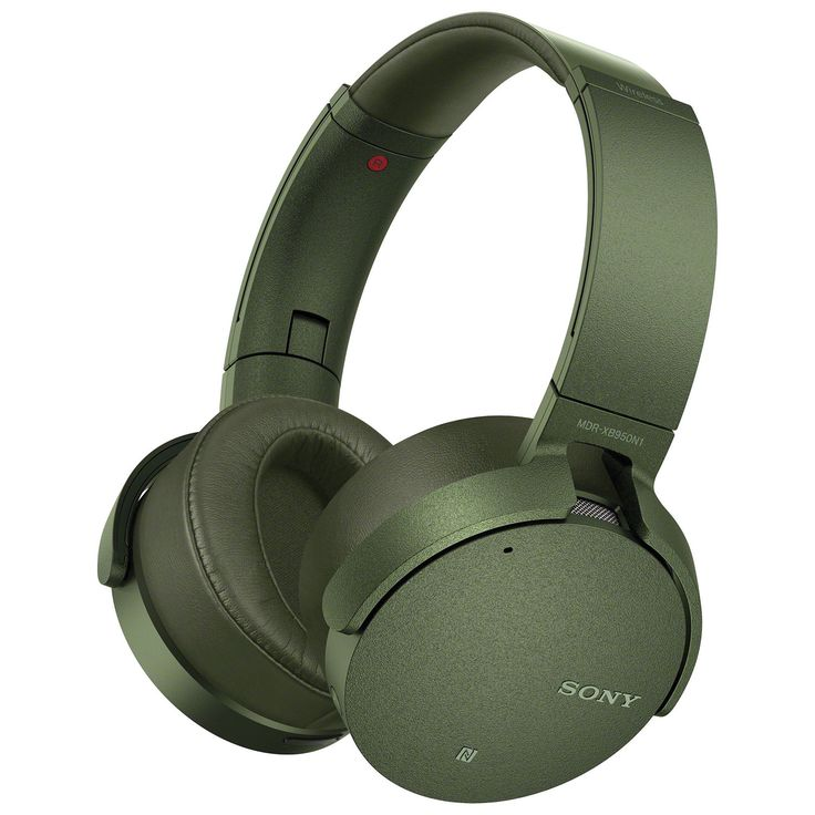 Sony On-Ear Noise Cancelling Wireless Headphones with Mic (MDRXB950N1/G) - Green : On-Ear Headphones - Best Buy Canada