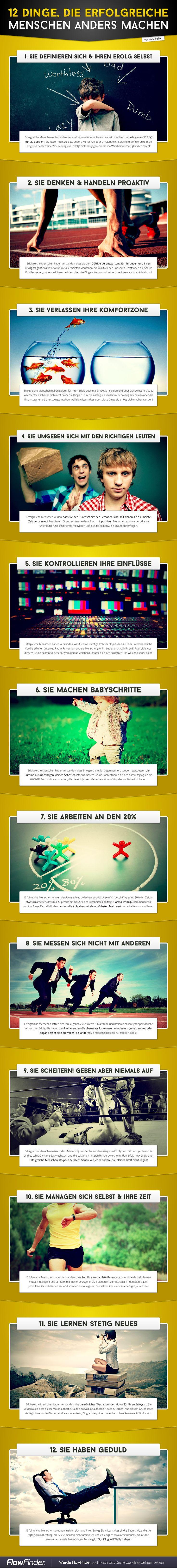 12 Dinge, die erfolgreiche Menschen anders machen