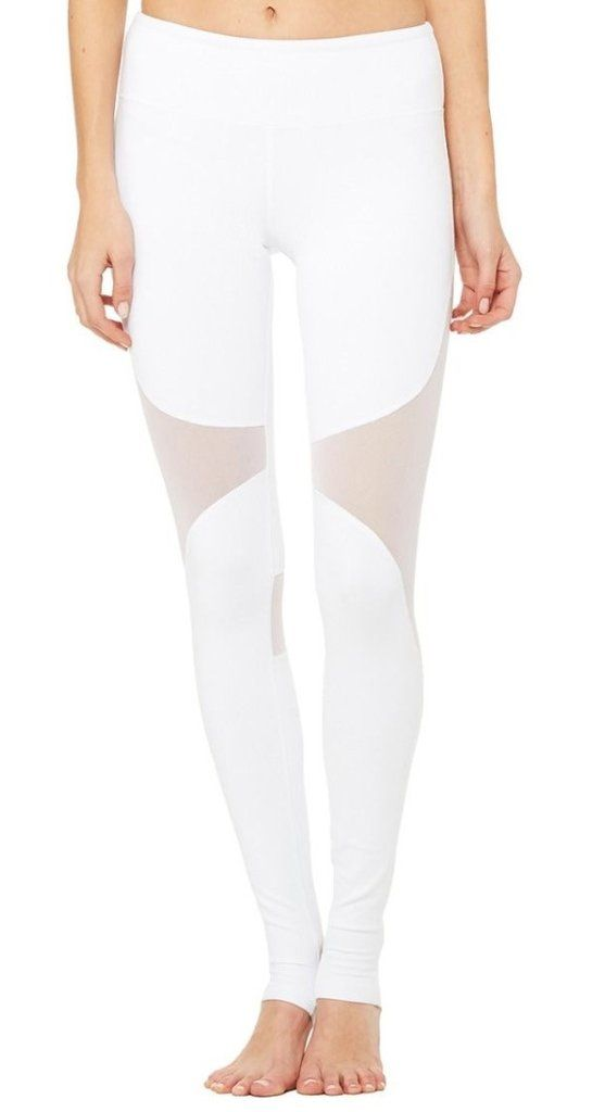 Alo Yoga Coast Legging- White