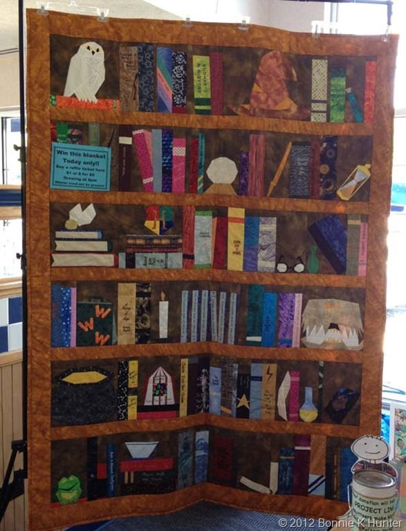 harry potter quilt. Sure!! I will collect all the fabric....find a pattern and…