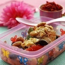 Fetakyckling med paprika, oliver och stora vita bönor - Recept - Tasteline.com