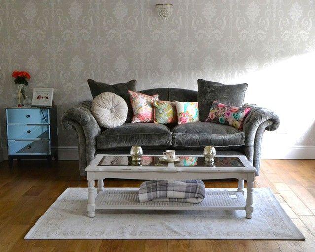 Loch Leven Grey Sofa