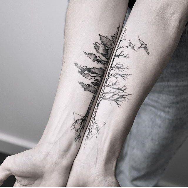Tattoo von @mariafernandeztattoo ___ Art page @Equilatterart ___ www.EQUILΔ …